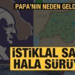 Dünya haritasında Türkiye Cumhuriyeti var çünkü büyük Ermenistan, büyük Kürdistan yok
