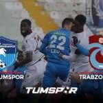 Erzurumspor Trabzonspor maçı BeIN Sports geniş özeti ve golleri | Erzurum'da puanlar paylaşıldı