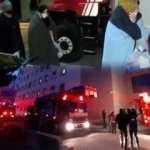 Üsküdar Zeynep Kamil Hastanesinde yangın