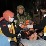 Hasandağı'nda nefes kesen kurtarma operasyonu