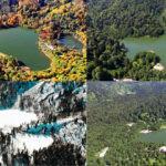 Karagöl'den 4 mevsim kartpostallık manzaralar