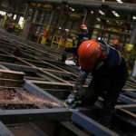 Sanayide çalışan kişi başına üretim yükseldi