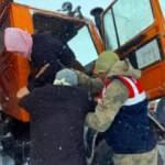 Van'da tipide mahsur kalan vatandaşlar kurtarıldı