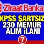 Ziraat Bankası memur alım son başvuru için az kaldı! Başvuru için bugün son gün
