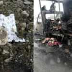 Ağrı'da PKK sempatizanları, AK Partili vatandaşların araçlarını yaktı!
