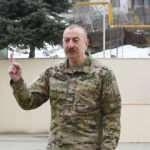 Aliyev, işgalden kurtarılan bölgelerde temel attı