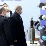 Bakanı Akar, MKEK Barutsan Roket ve Patlayıcı Fabrikası'nı inceledi