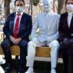 CHP'li belediye Atatürk ve köpeği Foks'un heykelini 'benzemiyor' diye kaldırdı