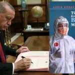 Erdoğan'dan 'Türkiye'nin Koronavirüsle Başarılı Mücadelesi' kitabına takdim yazısı