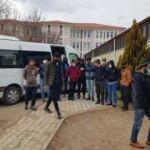 Erzincan'da Afgan uyruklu 16 sığınmacı yakalandı