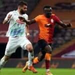 Galatasaray zirve yarışında yara aldı!