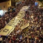 İsrail'de seçim öncesi Netanyahu protestosu