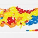 İl il güncel koronavirüs risk haritası