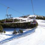 Palandöken ilkbaharda da kayak tutkunlarını cezbediyor
