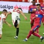 Sevilla, Elche'yi 2 golle geçti!