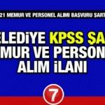 16 Belediye KPSS şartsız 216 personel ve memur alım ilanı! Başvurular başladı mı?