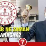 2021 Okullar ne zaman kapanacak?  MEB Bakanı Selçuk 2 Temmuz sonrası yazın telafi eğitimi...