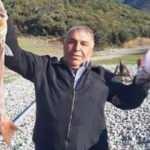 Amatör balıkçı oltasıyla 7 kiloluk sinarit avladı