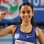 Bakan Kasapoğlu'ndan milli atlet Ayşe Tekdal'a tebrik