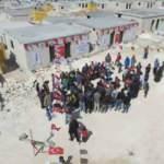 Binali Yıldırım'dan İdlibli mültecilere ev desteği
