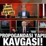 Canlı yayını terk etti! 'Pkk propagandası yapılıyor' kavgası