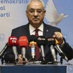 DSP Genel Başkanı Aksakal'dan çirkin saldırıya tepki!