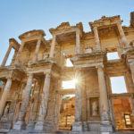 Efes Antik Kenti'nde 2 bin 500 yıl sonra teknelerle yolculuk başlıyor