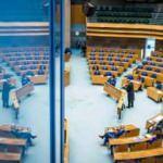 Hollanda'da bomba ihbarı: Parlamento binası boşaltıldı