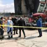 Hurda araçların yandığı alanda bir gün sonra iş yeri çalışanının cesedi bulundu