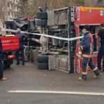 İtfaiye aracı otomobile çarptı: Yaralılar var...