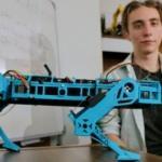 Lise öğrencisi robot köpek geliştirdi