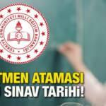 MEB 20 bin Sözleşmeli Öğretmenlik sözlü sınavları ne zaman?