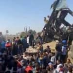 Mısır'da iki tren çarpıştı: En az 32 ölü, 165 yaralı
