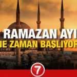 Ramazan ne zaman başlayacak? Diyanet 81 ilin Ramazan imsakiyesini açıkladı! İlk oruç...