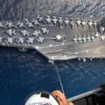 ABD'nin dev uçak gemisi Girit Adası'na demirledi, Yunan sevinç çığlıkları attı!
