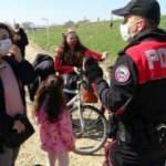 Tunca Nehri kıyısında gezen 28 kişiye 25 bin lira ceza
