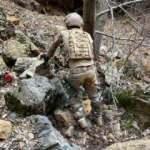 Tunceli'de PKK'nın inleri imha edildi