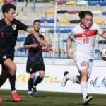 Ümit Milli Takımı, Hırvatistan'a 4-1 yenildi