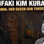 3'üncü ittifakı Demirtaş mı Akşener mi kuracak