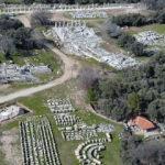 Antik dönemin 2 bin yıllık sütunları ayağa kaldırıldı