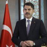 Bakan Kurum'dan Kanal İstanbul mesajı: Hayırlı olsun