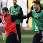 Galatasaray'da Onyekuru ve Etebo antrenmana çıktı!