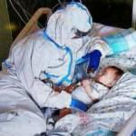 İtalya'da 7 aylık bebeğe hemşireden anne tesellisi