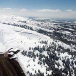Kış turizminin alternatif adresinde baharda kayak imkanı