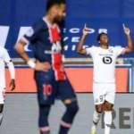 Lille, PSG'yi 1-0 yenerek liderliğe yükseldi