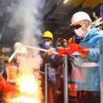 Sabiha Gökçen Havalimanı metro hattında ilk ray kaynağı yapıldı