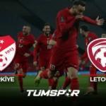 Türkiye Letonya maçı geniş özeti ve golleri! (TRT Spor) | Milliler attı Letonlar kovaladı!