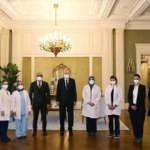 Cumhurbaşkanı Erdoğan, sağlık çalışanlarıyla bir araya geldi