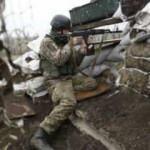 Donbas'da bir Ukrayna askeri öldü