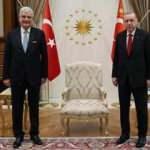Erdoğan, BM 75. Genel Kurul Başkanı Bozkır'ı kabul etti